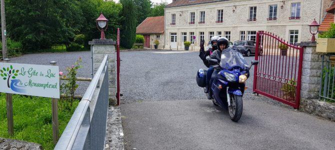 Balade en moto dans l'Aisne