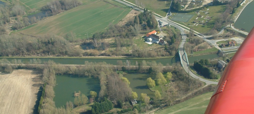 The House seen from the sky